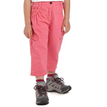 Pink Regatta Girls' Moonshine Capri Pants