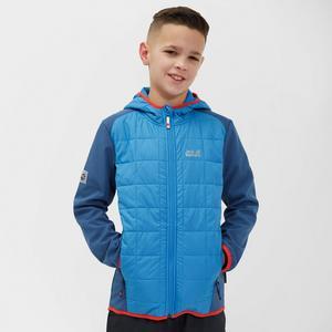 JACK WOLFSKIN Boy's Grassland Hybrid Jacket