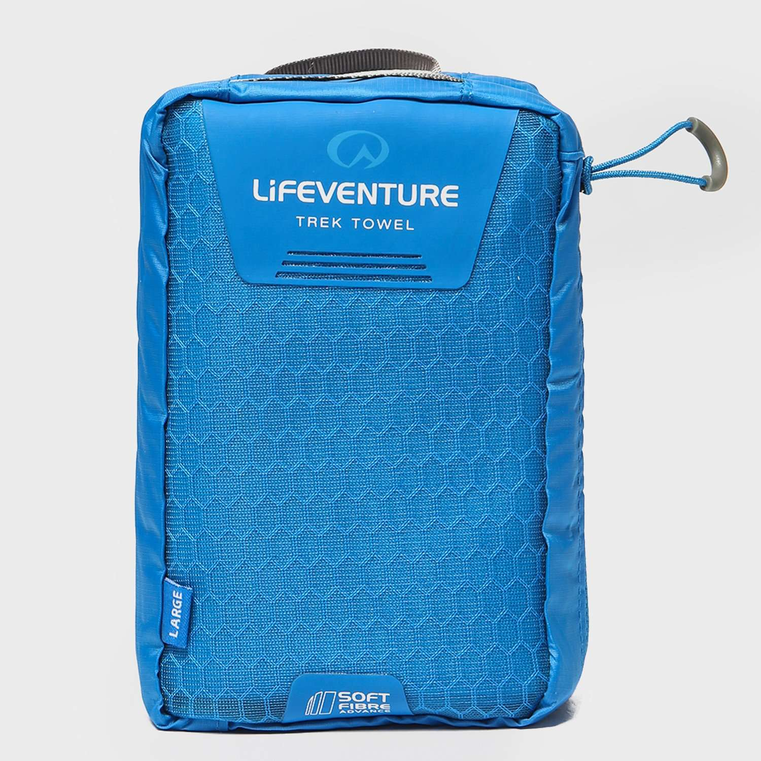 LIFEVENTURE SoftFibre Blue Travel Towel (Large)