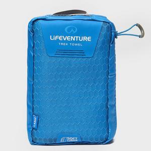 LIFEVENTURE SoftFibre Blue Travel Towel (Large)