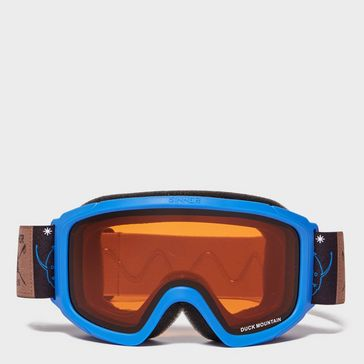 a8b390e086e2 Blue SINNER Kids Duck Mountain Goggles