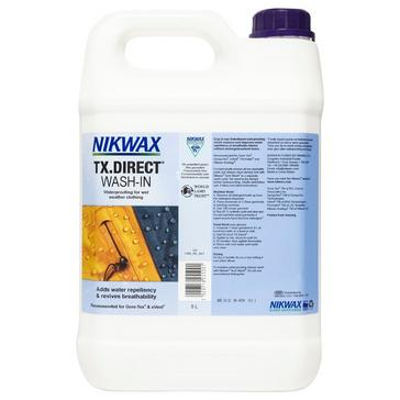 White Nikwax TX.Direct Wash-In 5L