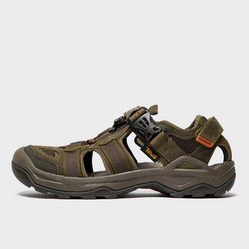 1322f99bfaf9 Olive TEVA Men s Omnium 2 Leather Sandal ...