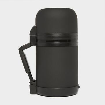 Black LIFEVENTURE Wide Mouth 750ml Vacuum Flask