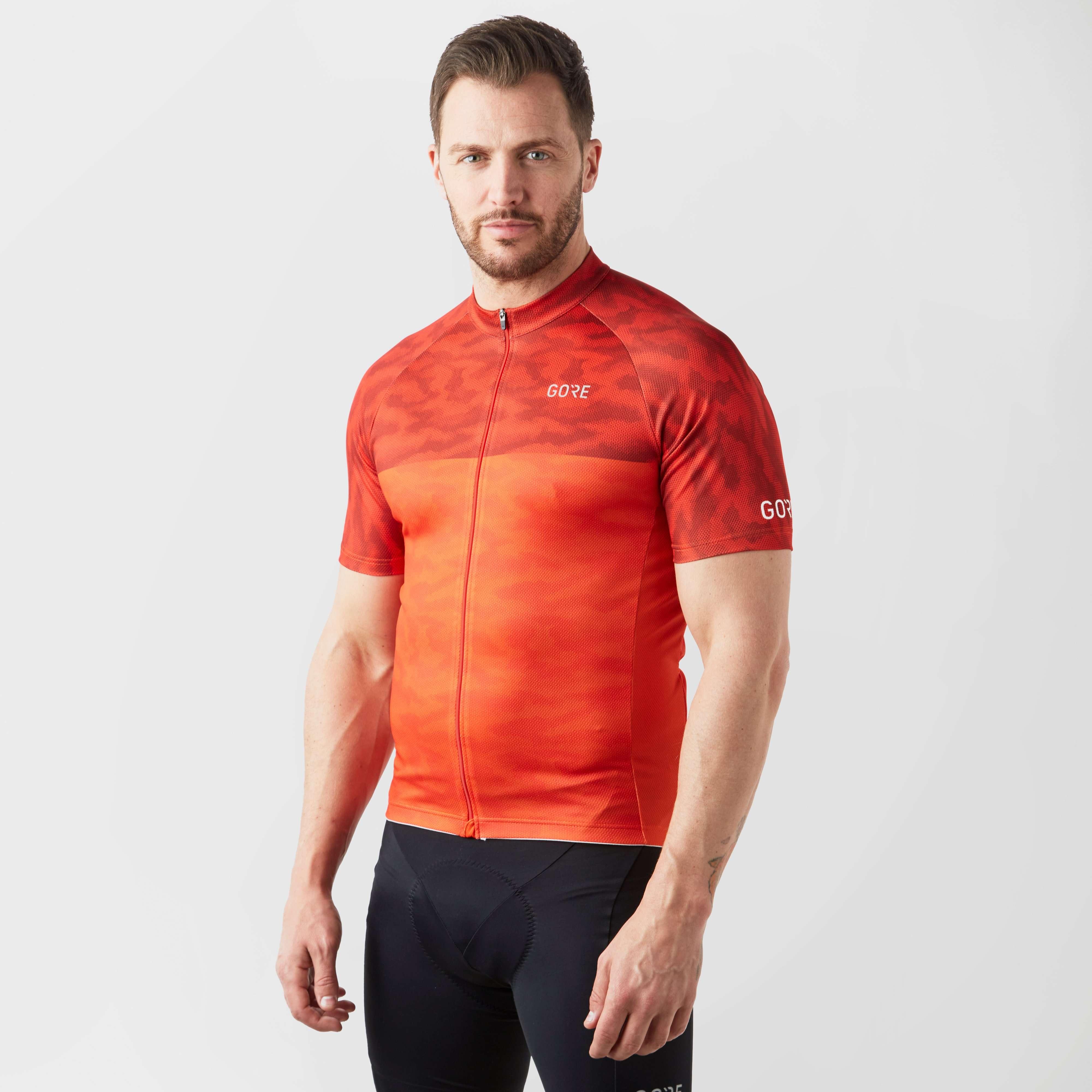 GORE Men's C3 Optiline Camo Cycling Jersey