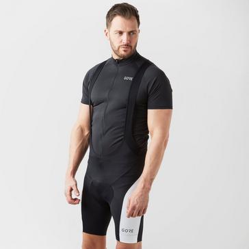 Black Gore Men's C3 Bib Shorts+