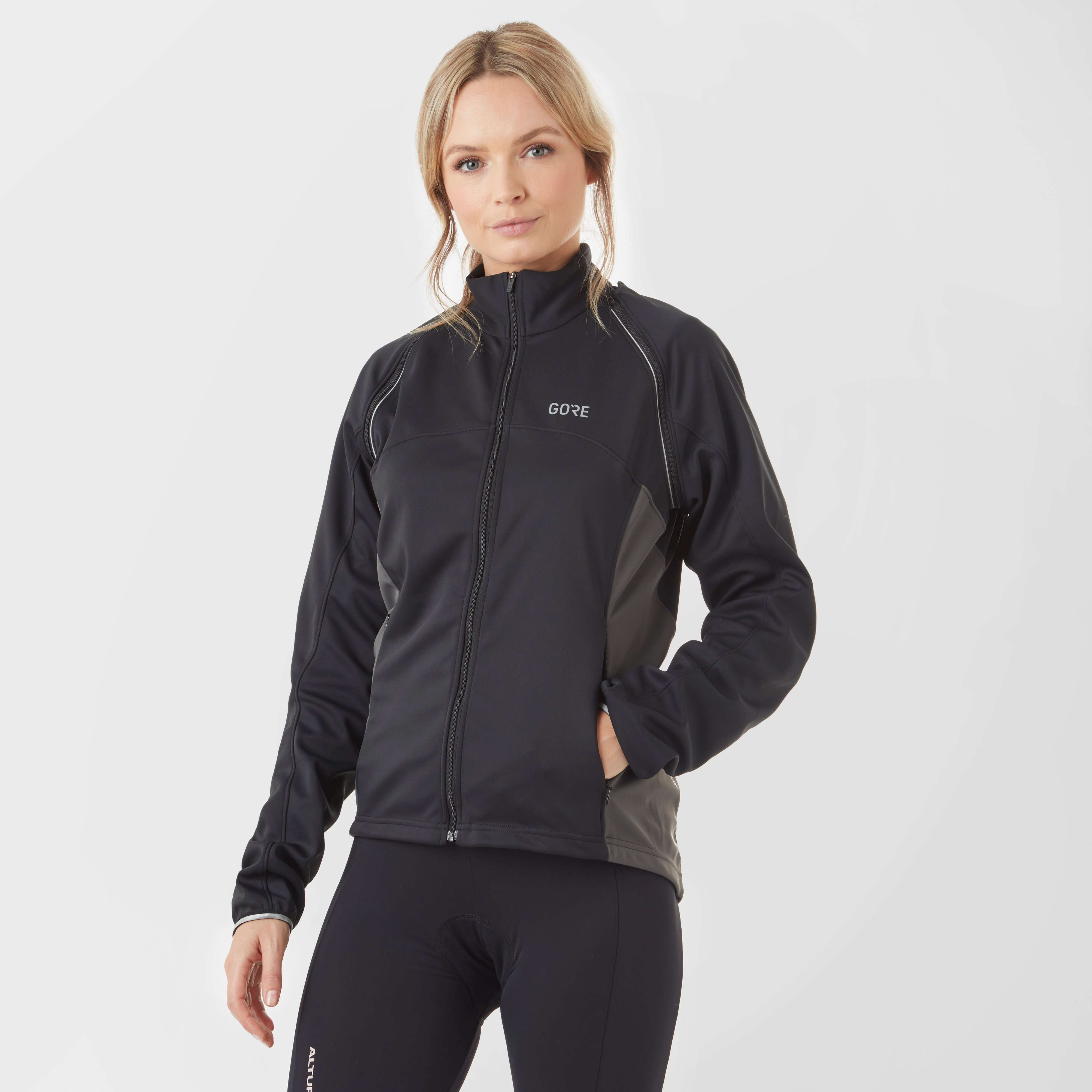 GORE Women's C3 GORE® Windstopper® Phantom Zip-Off Jacket