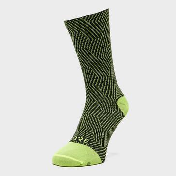 Yellow Gore Men's C3 Optiline Mid Socks