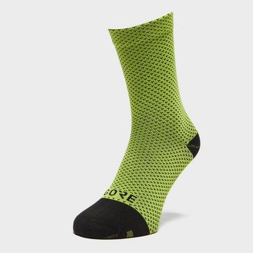 Yellow Gore Men's C3 Dot Mid Socks