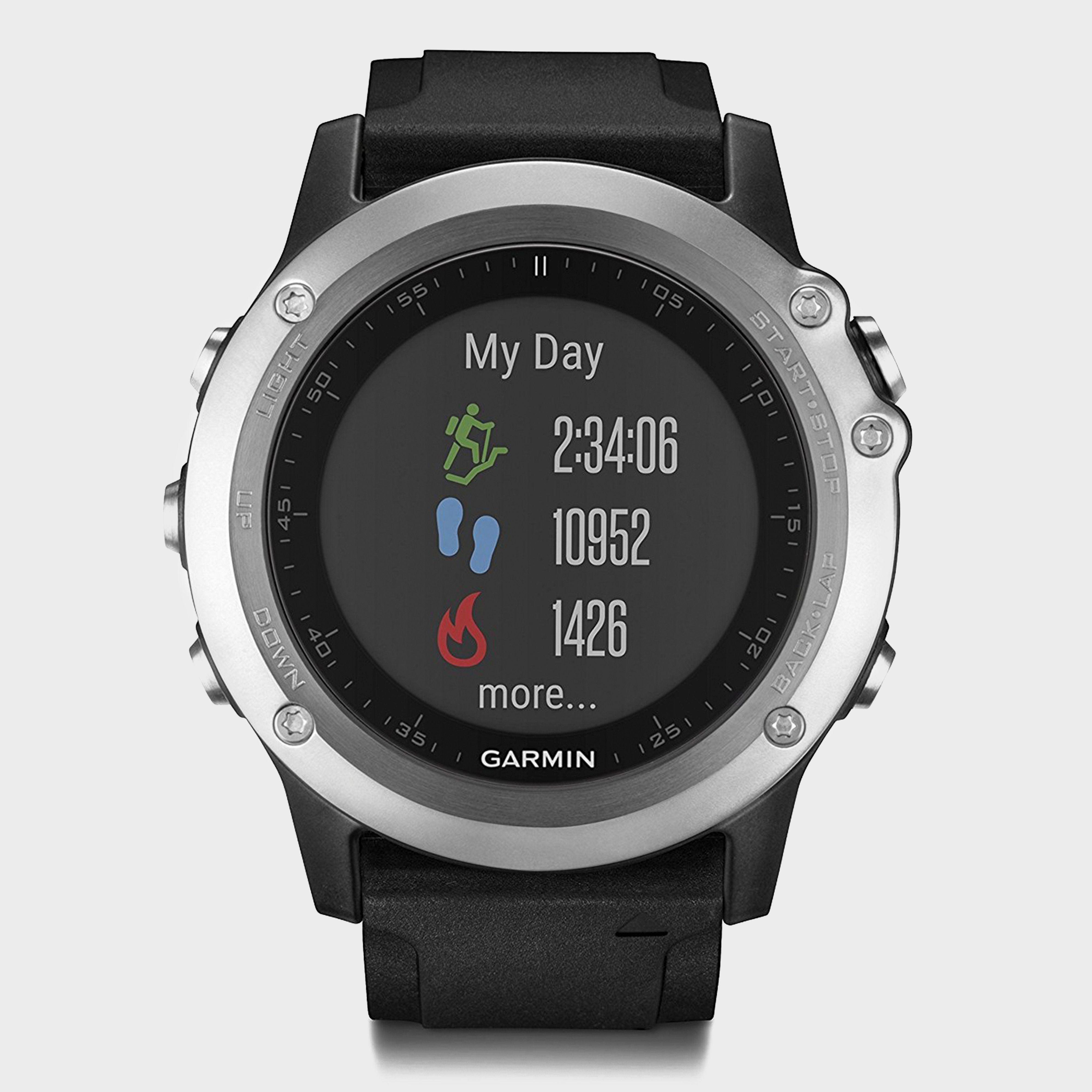 GARMIN fenix 3 Silver HR Watch