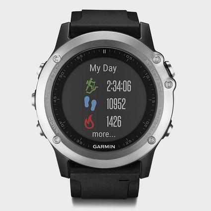 Fenix 3 Silver HR Multi-Sport Watch
