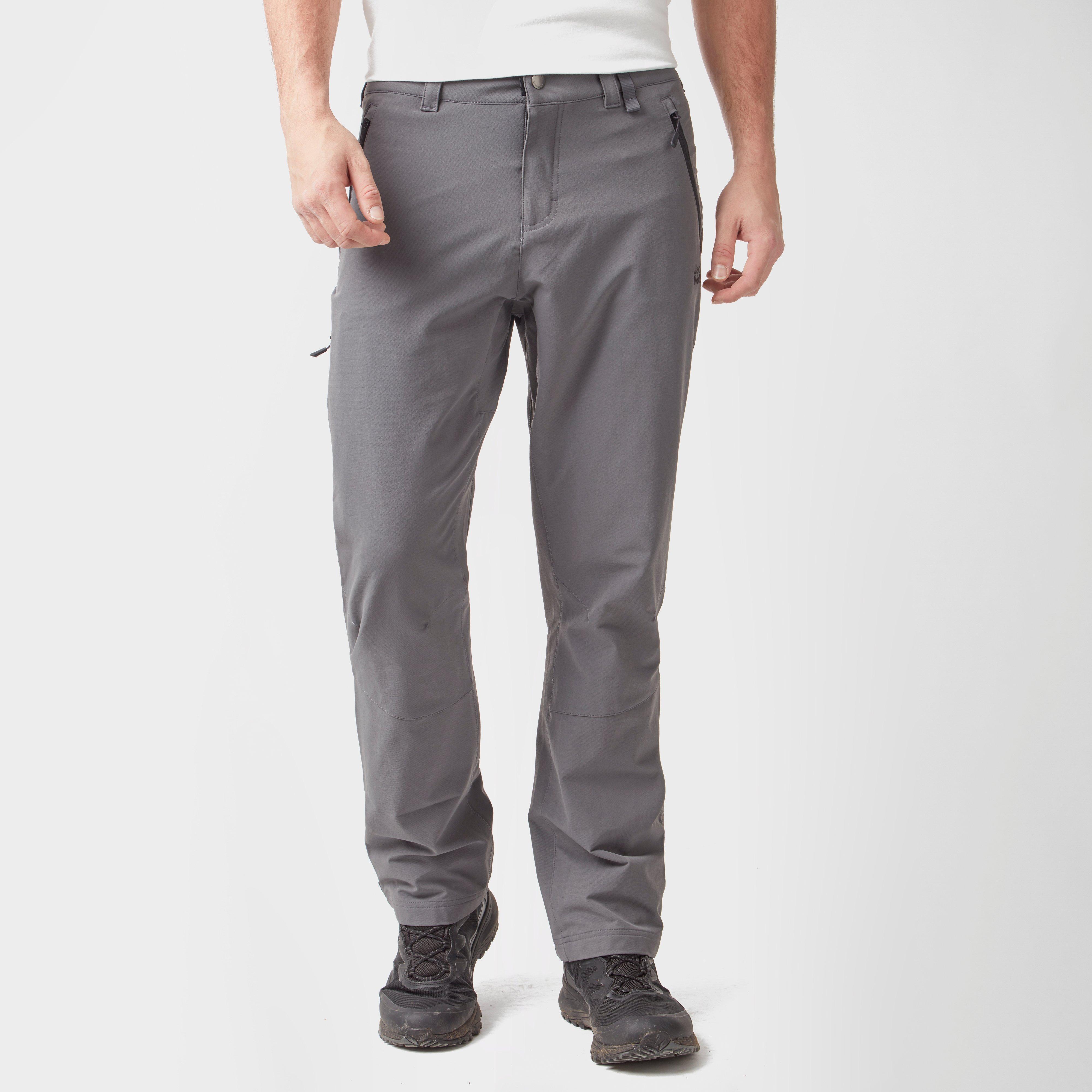 Jack Wolfskin Jack Wolfskin Mens Activate XT Trousers - Grey, Grey