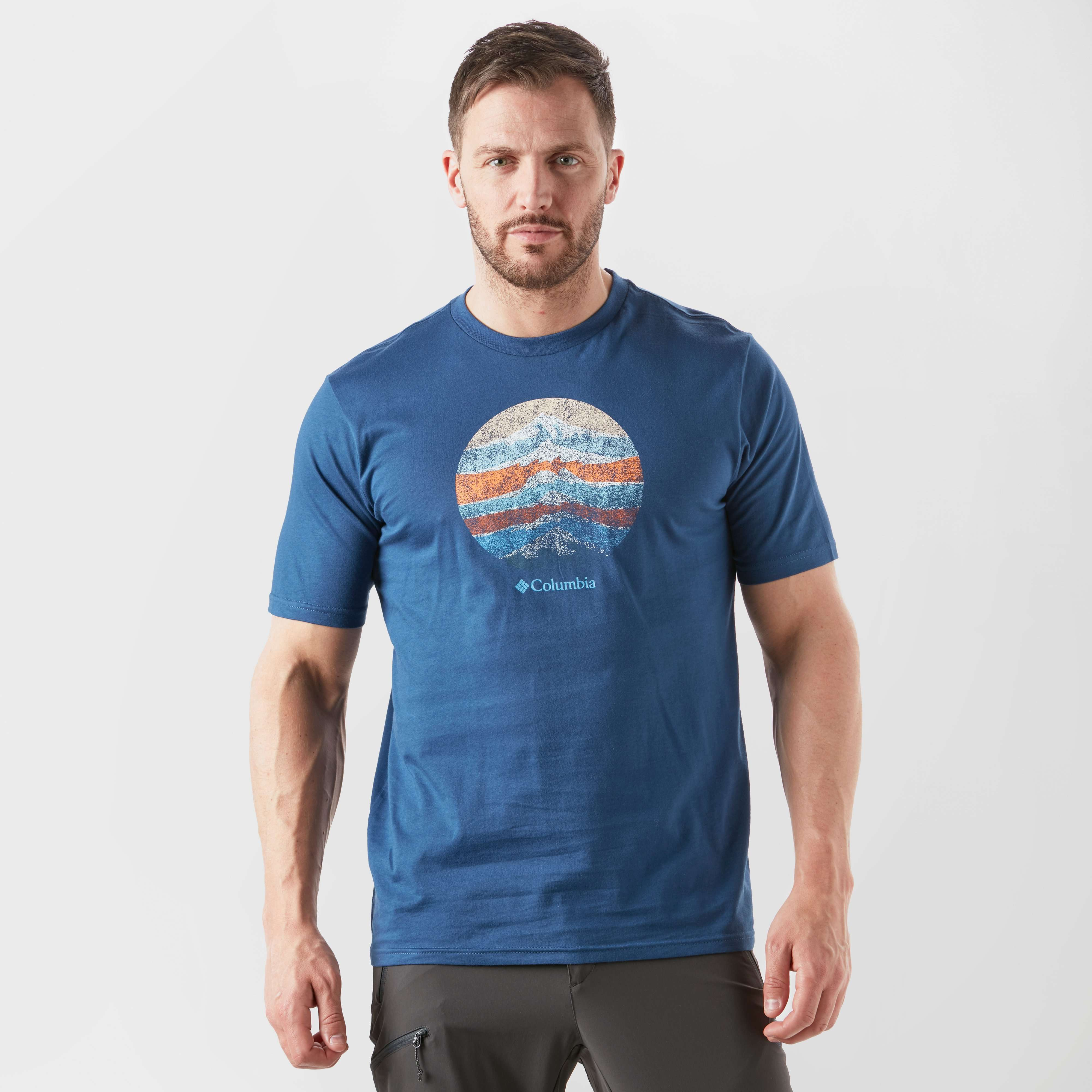 COLUMBIA Short Sleeve Mountain Logo T-Shirt
