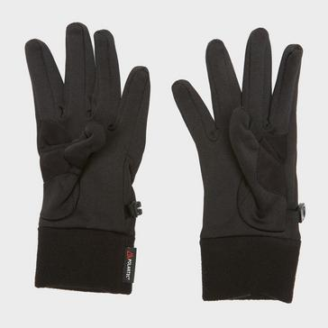 Black The North Face Women's Powerstretch Gloves