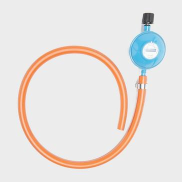 Orange Campingaz Gas Hose and Regulator Kit