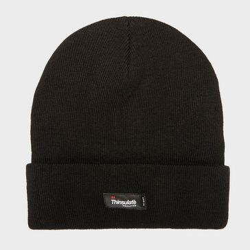 e9d42262478 Black PETER STORM Unisex Thinsulate Knit Beanie ...