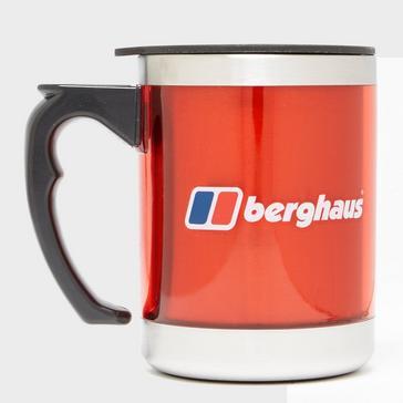 Red Berghaus Camping Mug