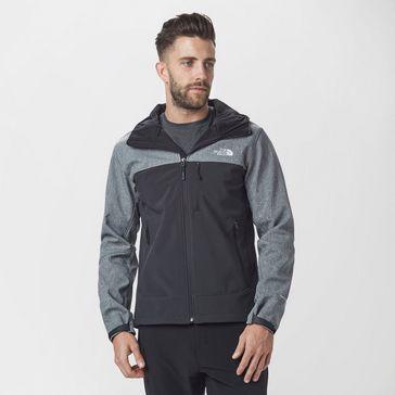 7e1fac1a189d Black Grey THE NORTH FACE Men s Apex Bionic Jacket ...