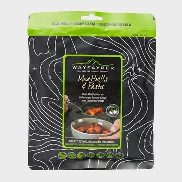 Black Wayfayrer Pasta & Meatballs