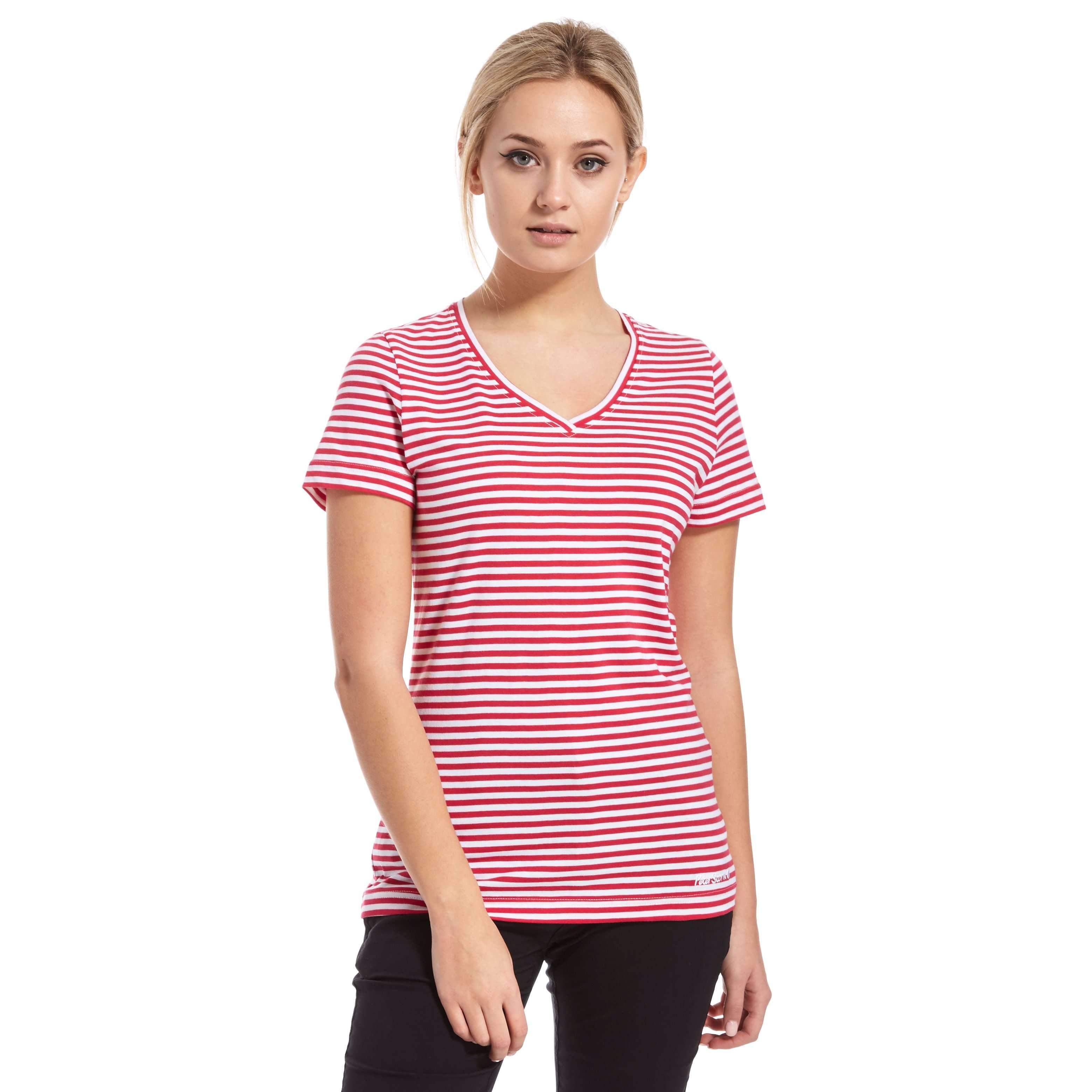 PETER STORM Women's Angel Stripe T-Shirt