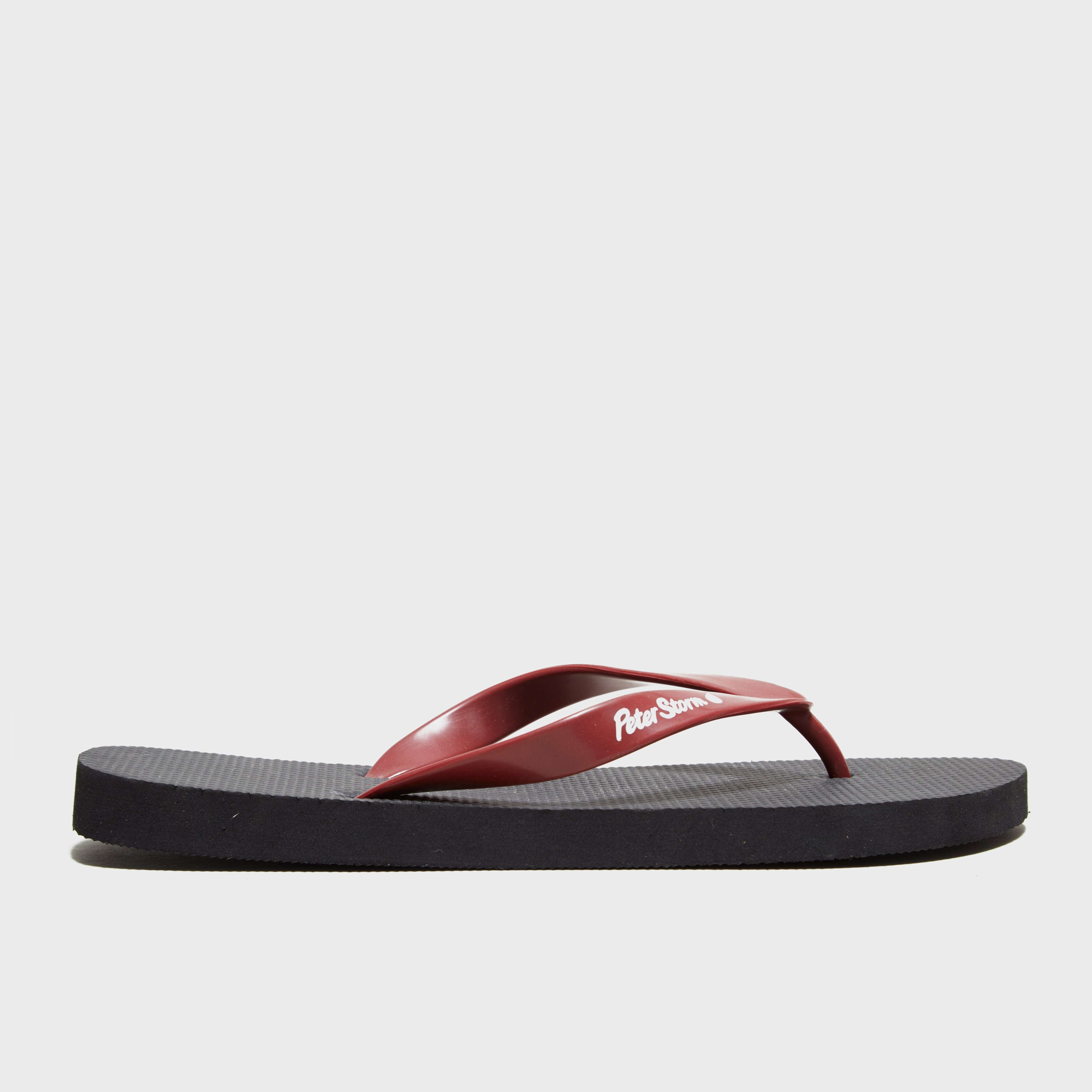PETER STORM Men's Nero Flip Flops