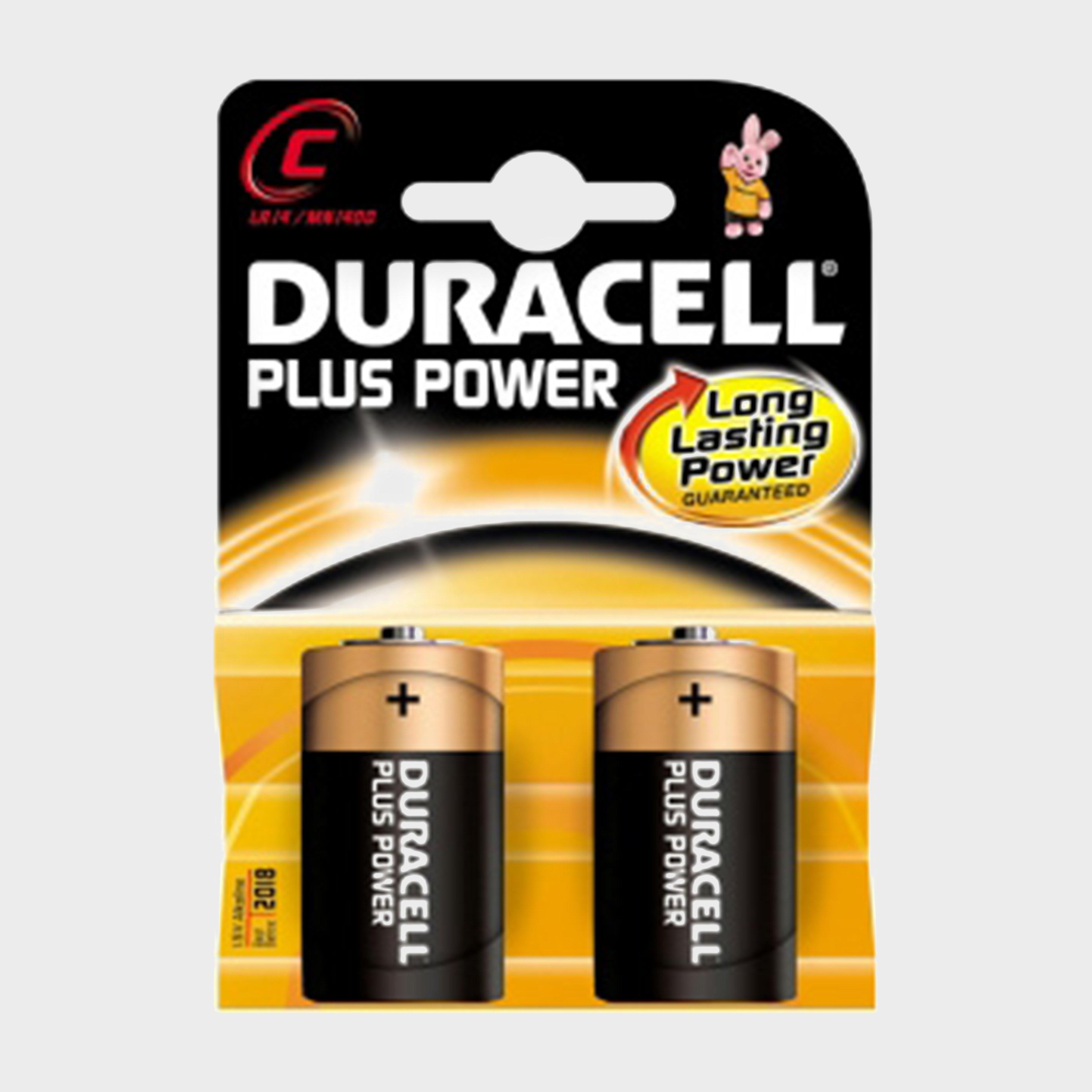 Duracell Plus Power MN1400 C Batteries 2 Pack, Orange/Orange