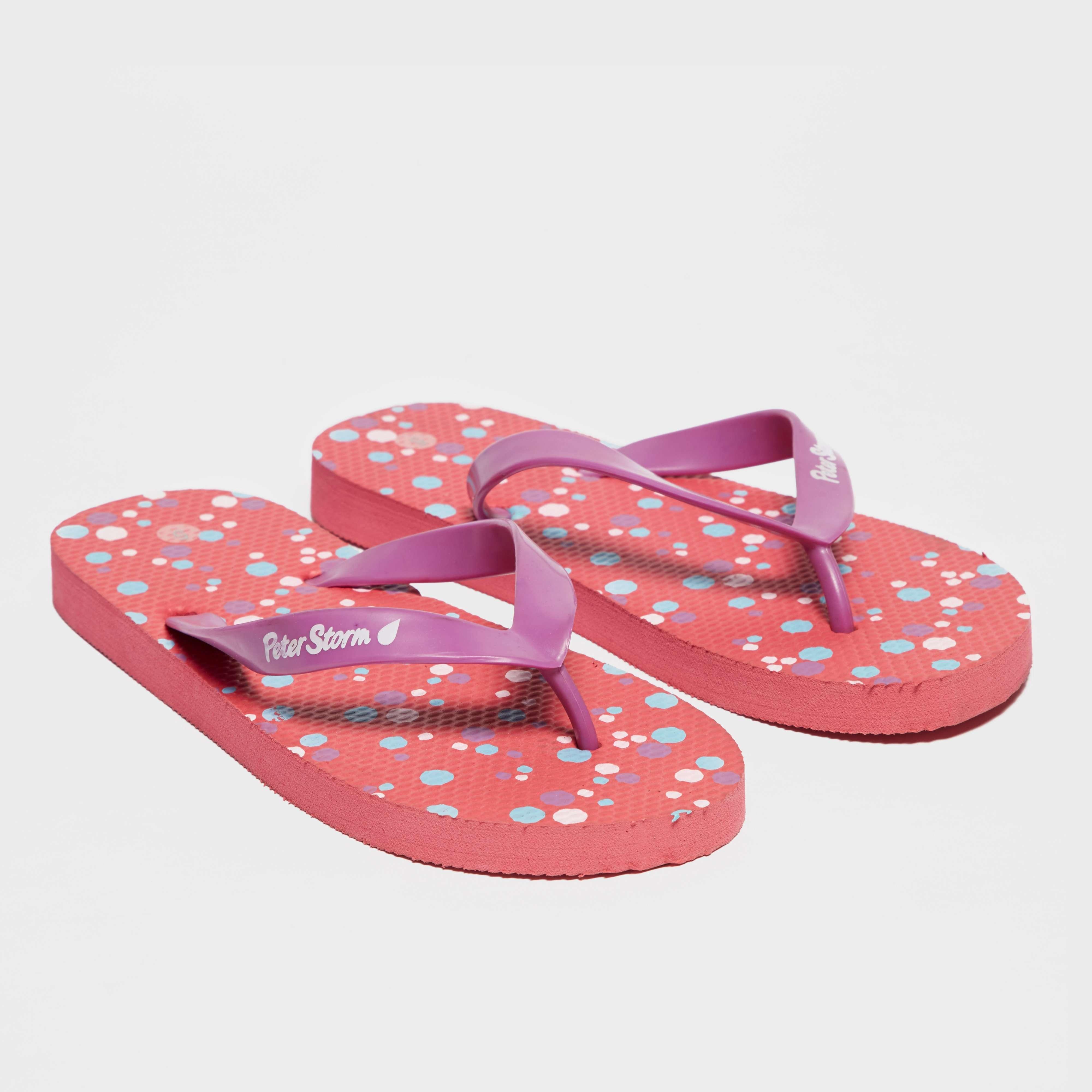 PETER STORM Women's Dotty Flip Flops