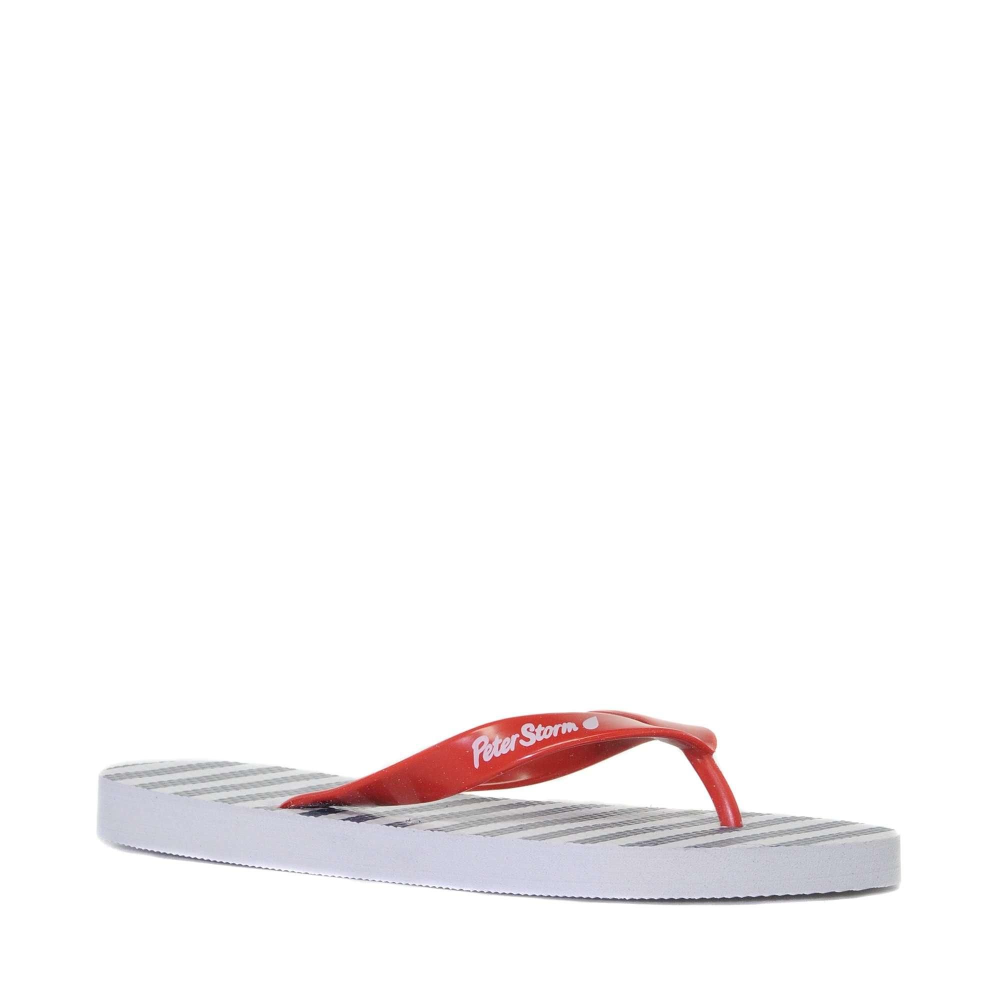 PETER STORM Women's Stripe Flip Flops