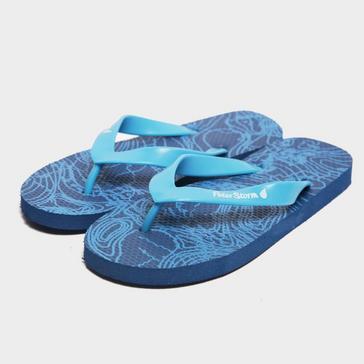 d628a8ce35d9 Blue PETER STORM Boys  Contour Flip Flops