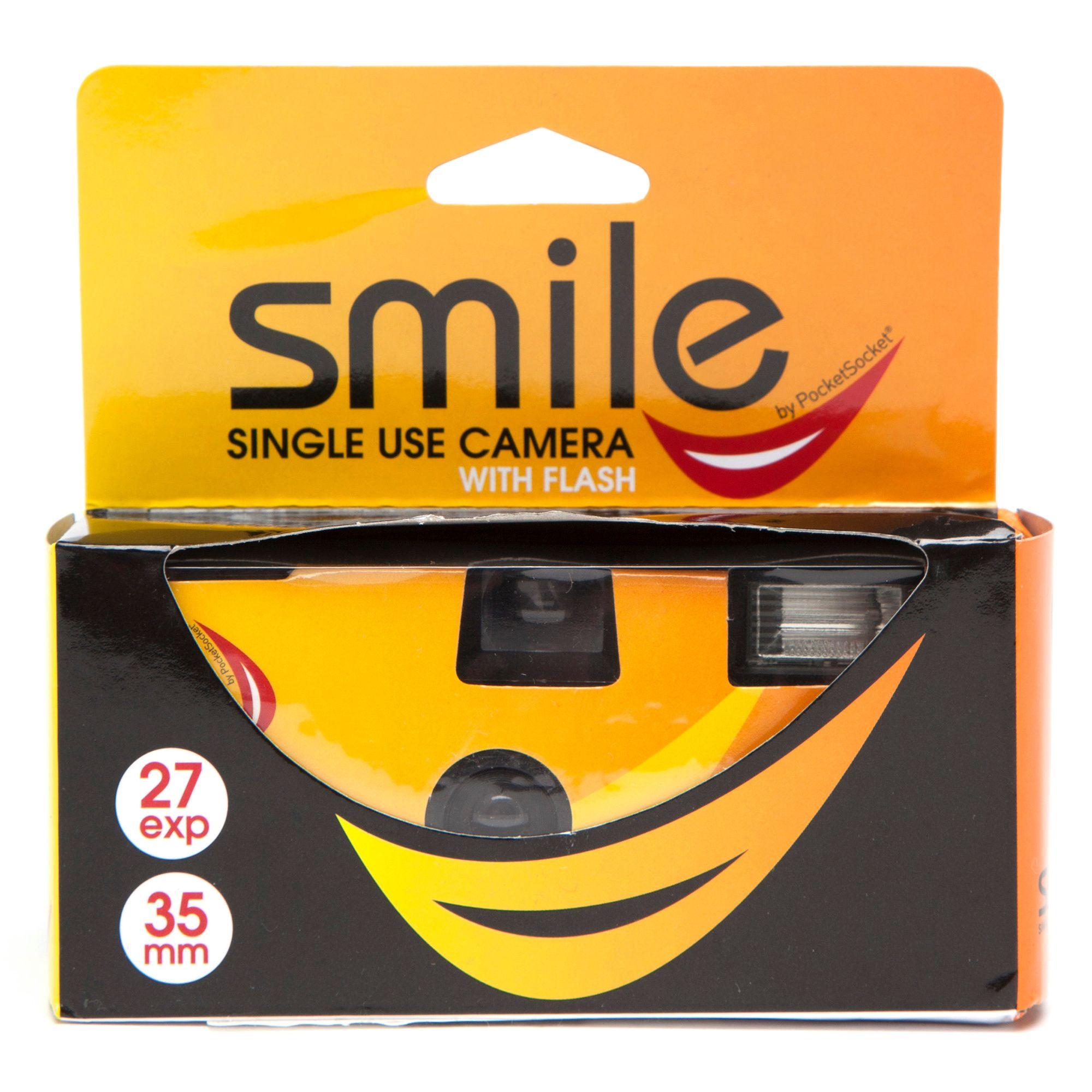 SMILE Single Use Flash Camera