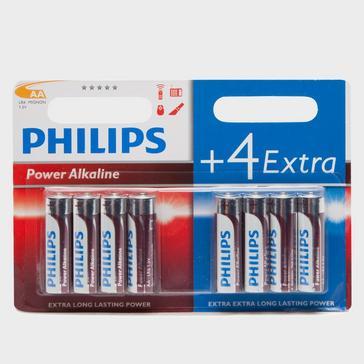 N/A Phillips Ultra Alkaline AA LR6 Batteries 8 Pack
