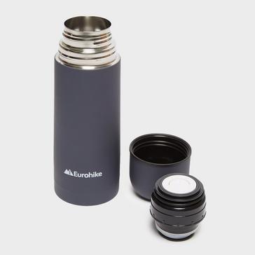 Slate Grey Eurohike 0.3L Rubberised Flask