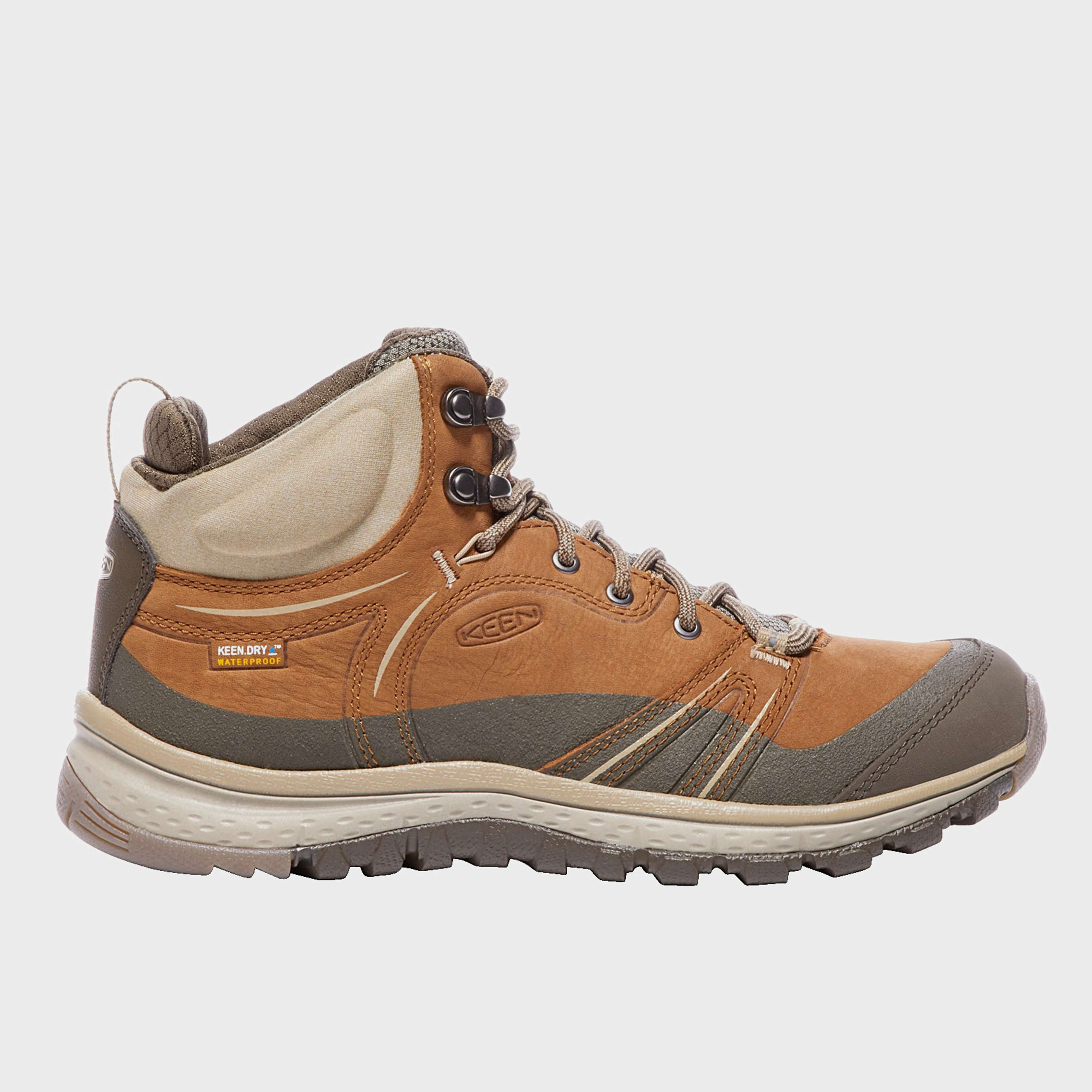 KEEN Women's Terradora Leather Waterproof Mid