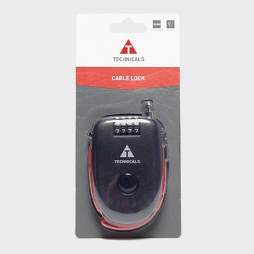 Black Technicals Cable Lock