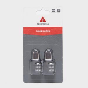 TECHNICALS Set of 2 Combination Locks