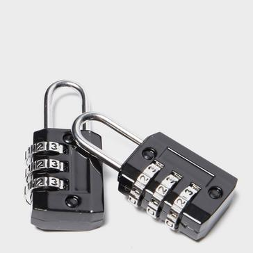 Black Technicals Set Of 2 combination Locks