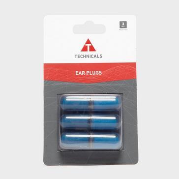 Blue Technicals Memory Foam Ear Plugs 3 Pack