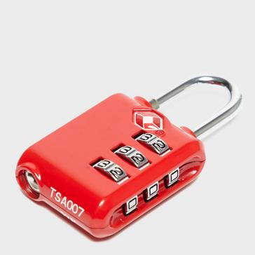 Red Technicals Combination Lock