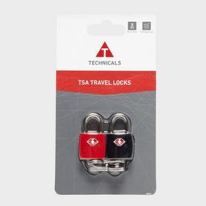 TECHNICALS Set of 2 TSA Approved Key Locks