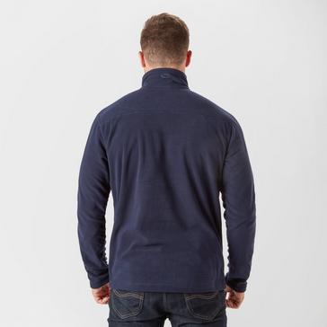 Navy Brasher Men's Bleaberry II Half-Zip Fleece
