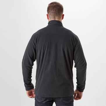 Black Brasher Men's Bleaberry Full-Zip Fleece