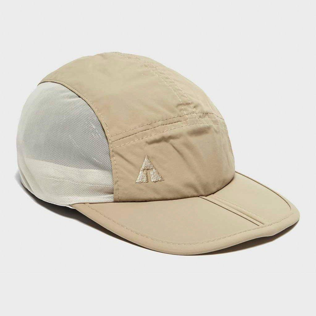 Technicals Technicals Mens Travel Cap - Beige, Beige