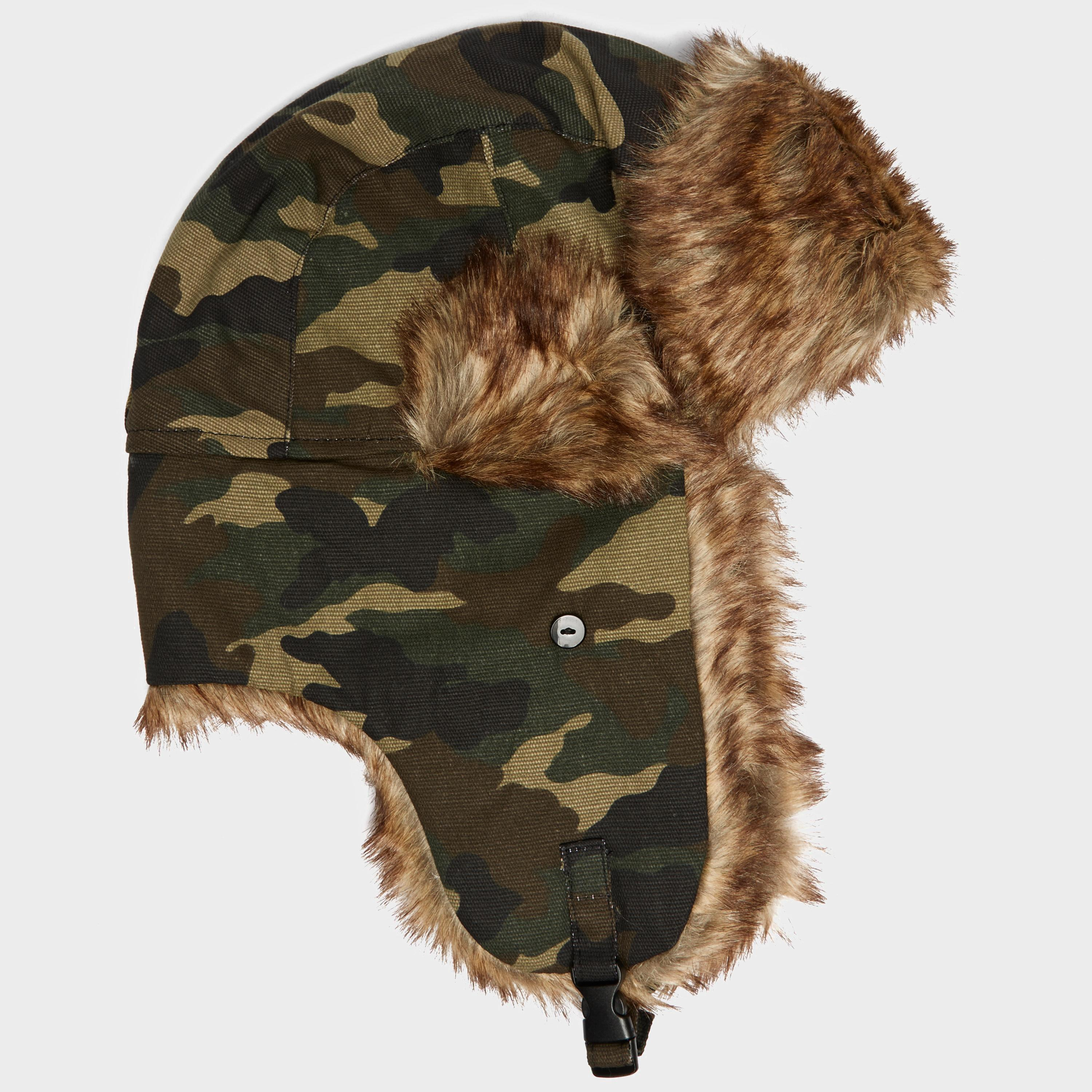 Peter Storm Mens Camo Trapper Hat Camouflage