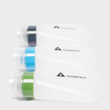 Clear Technicals Set of 3 100ml Travel Bottles