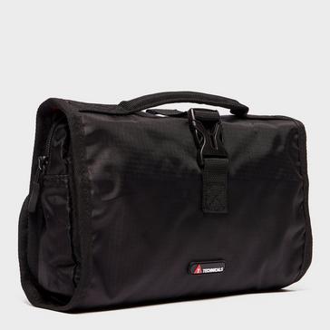 Black Technicals Foldout Wash Bag