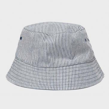 Navy Peter Storm Women's Striped Bucket Hat