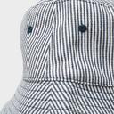 Navy PETER STORM Women's Striped Bucket Hat image 4