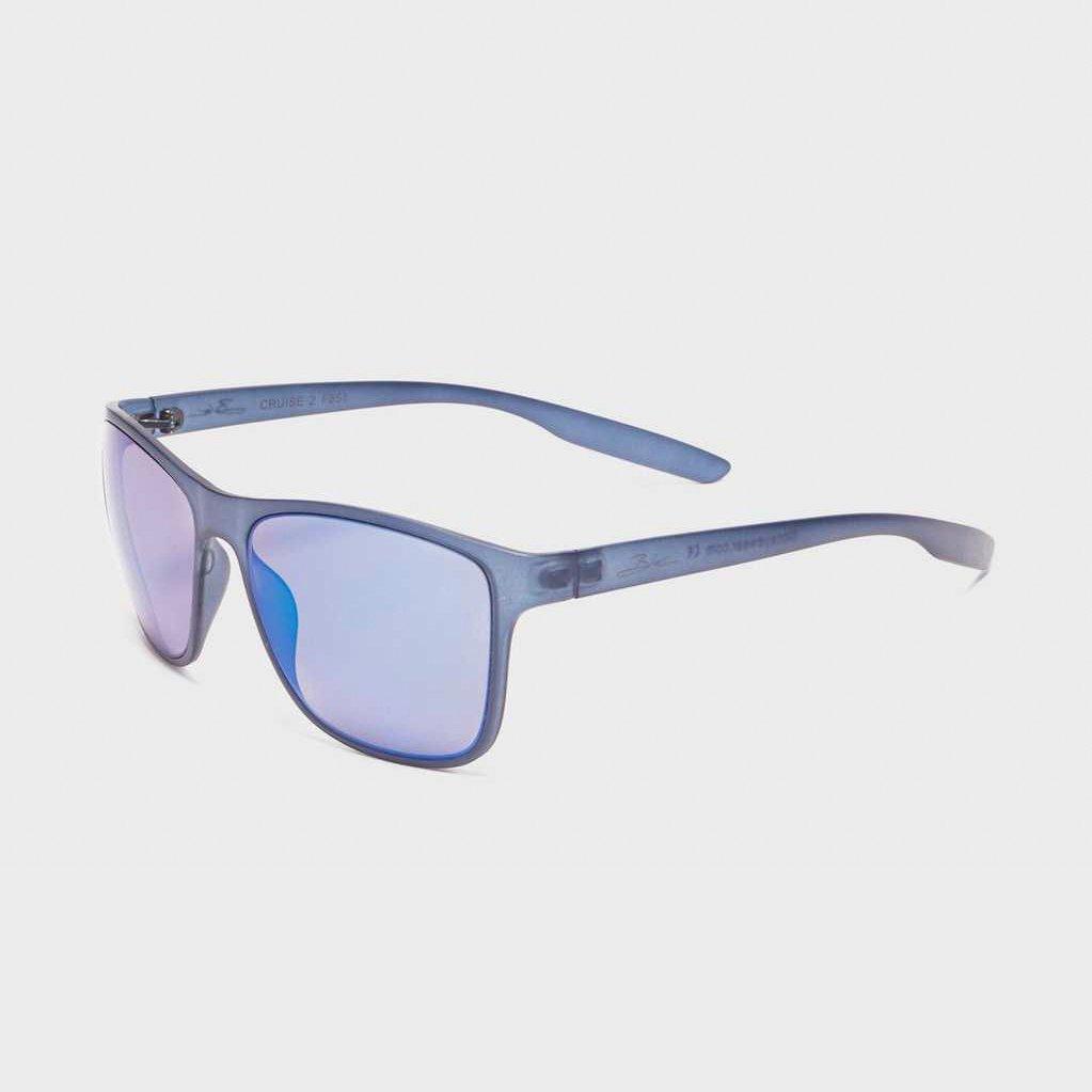BLOC CRUISE 2 F851 Mens//Womens Sunglasses CRYSTAL GREY BLUE MIRROR CAT.3