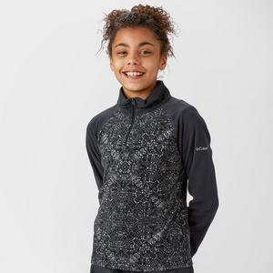 COLUMBIA Girls Glacier II Half-Zip Fleece