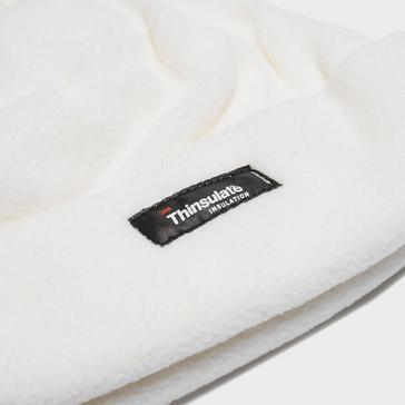 White Peter Storm Unisex Thinsulate Fleece Beanie